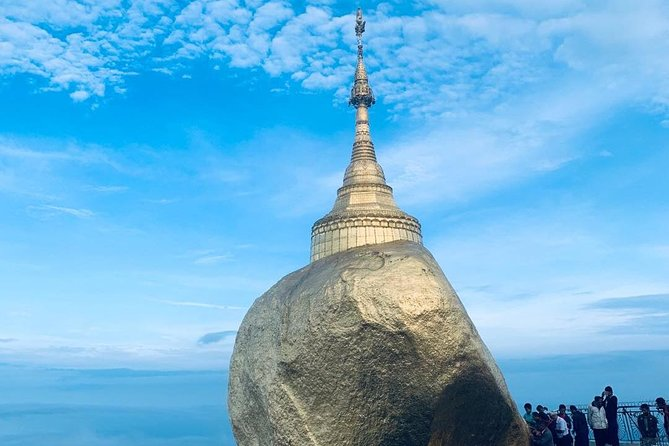 Private Day Return Trip to Golden Rock from Yangon