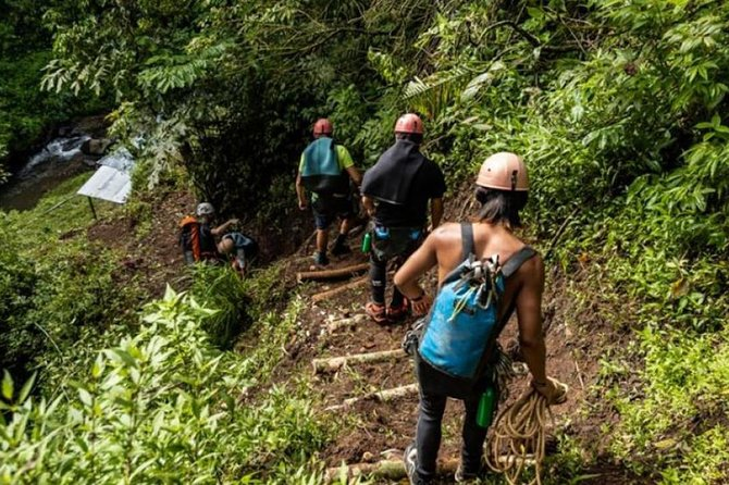 Exciting Canyoning in Bali: Maya Dewa Canyon