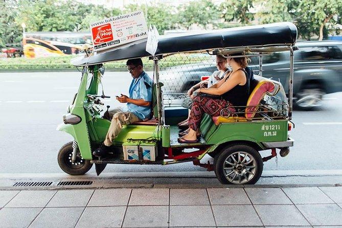 Bangkok Old Town Tuk Tuk Hop-On Hop-Off