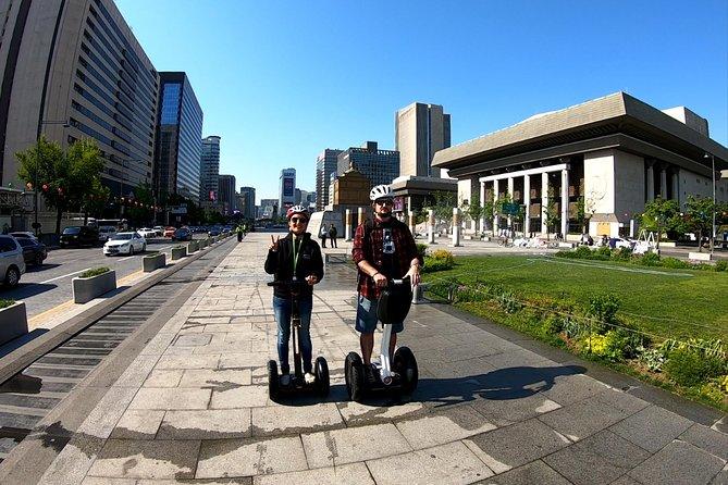 Afternoon Seoul highlights Segway Tour with food tasting and Korean BBQ