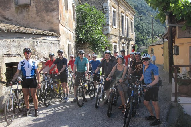 CYCLING in Corfu island.. 60 km hard cycling