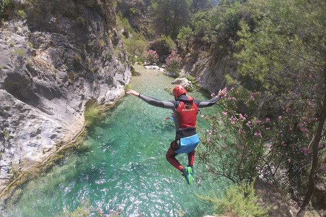 Canyoning in Andalucia: Rio Verde Canyon
