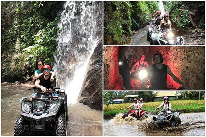 Bali KUBER ATV - Tunnel, Waterfall, Rice field, Jungle