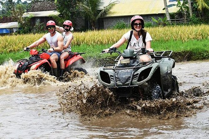 Bali KUBER ATV - Tunnel, Waterfall, Rice field, Jungle