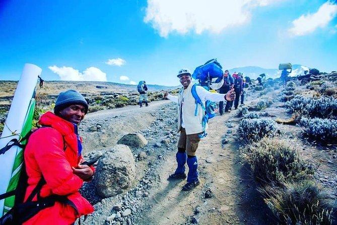 Kilimanjaro climb via Machame Route