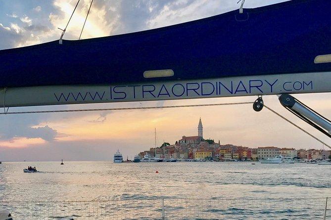 Sailing in Rovinj with Istraordinary