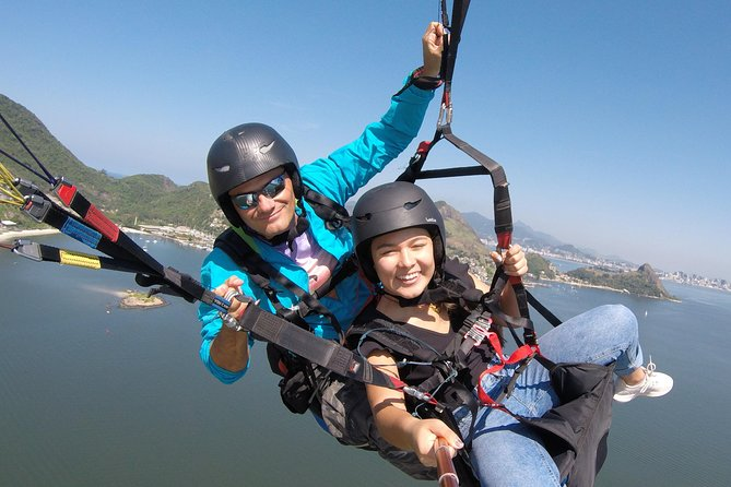 Paragliding double flight