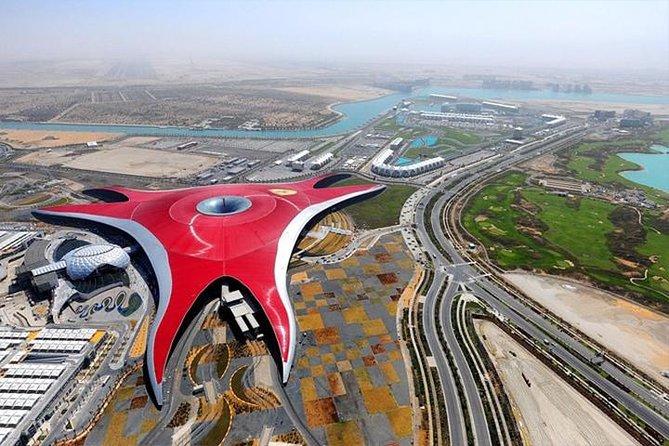 Abu Dhabi City Tour Including Ferrari World Tickets from Dubai
