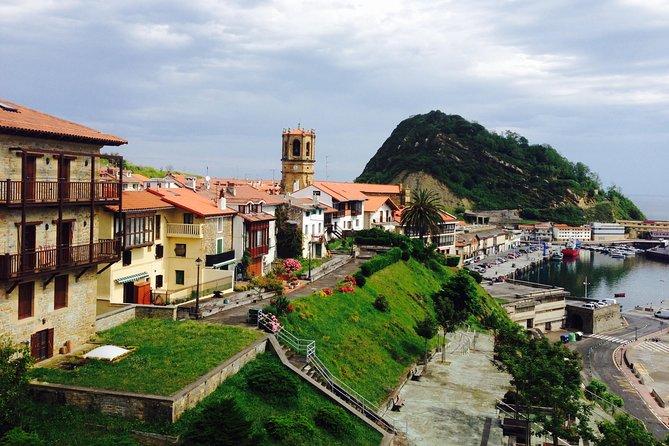 San Sebastian: Getaria Tour by Land and Sea