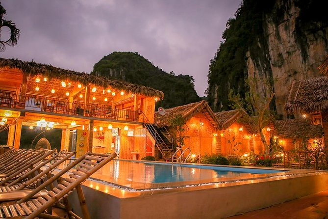 Ninh Binh 2 days 1 night in Bungalow: Hoa Lu-Mua Cave -Tam Coc-Bike-Cuc Phuong