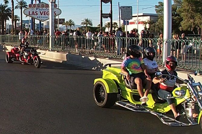Las Vegas Strip Trike Tour