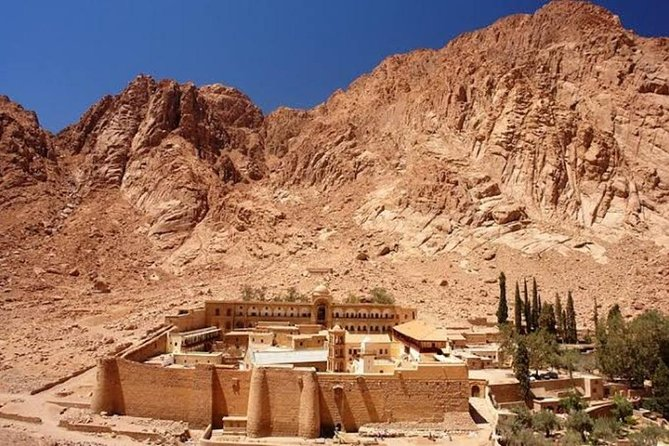 St. Cathrine Monastry & Mount Sinai From Dahab (sunrise)
