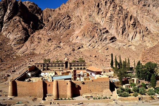 St.cathrine Monastery & Mount Sinai From Dahab (sunset)