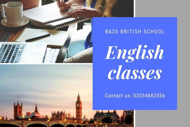 Visit London and learn English