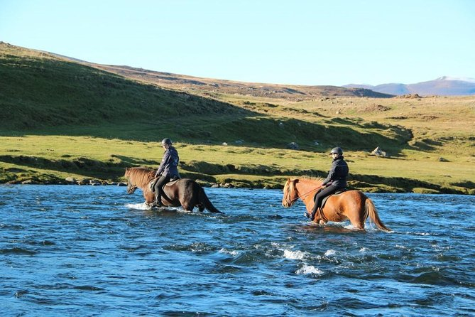 Horse Riding Tour to the Glacier River Delta with Waterfall - 3 hours photo 14