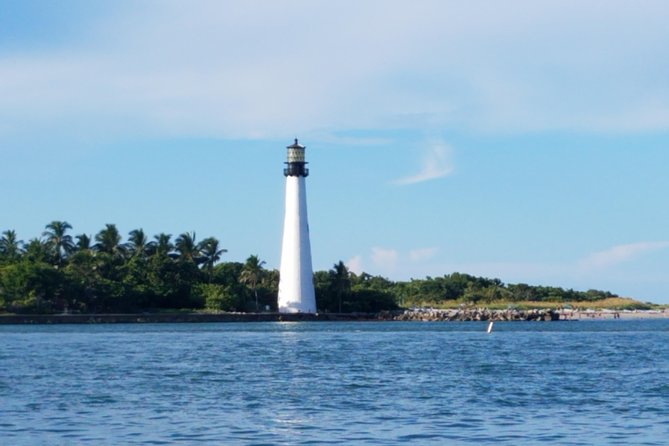 Three-Hour Private Lighthouse / Stiltsville Sailboat Tour for Up to Six