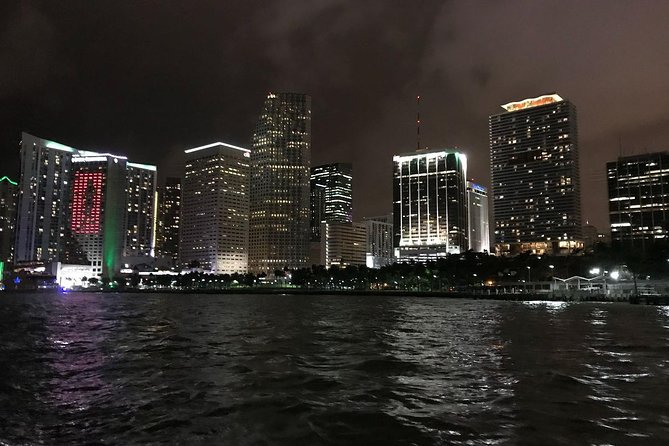 Three-Hour Private Night Skyline Sailboat Tour of Miami Area for Up to Six