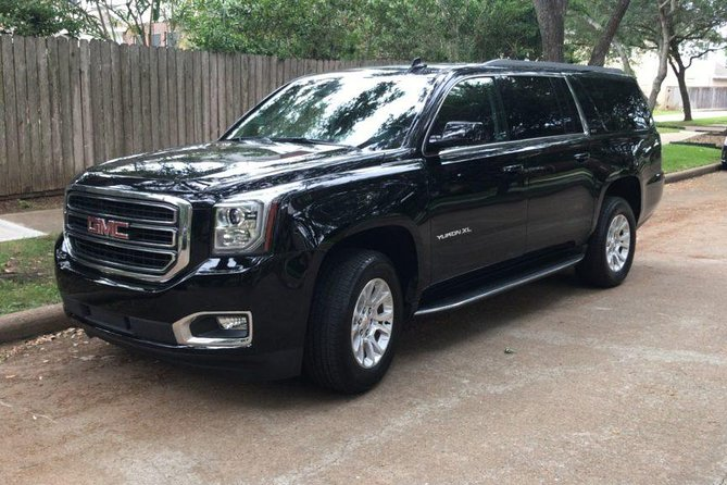 GMC Yukon XL - Luxury SUV Ground Transportation Houston to Galveston Cruise