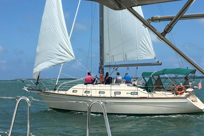 Four Hour Private Miami Biscayne Bay Sailboat Tour For Up To Six