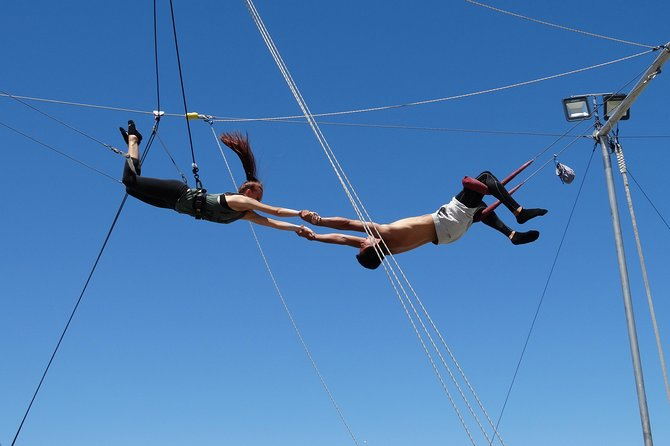 Trapeze Lessons in Las Vegas