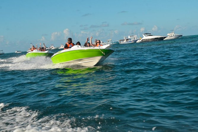 Speed Boats & Snorkeling with Natural Pool in Punta Cana (Half Day)