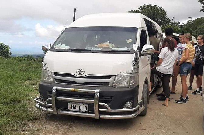 Taxi transfer and tours fiji