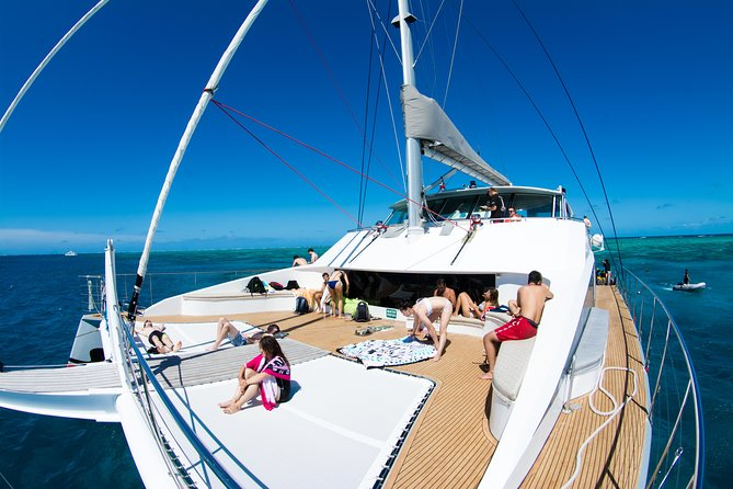 Passions of Paradise Great Barrier Reef Snorkel and Dive Cruise from Cairns by Luxury Catamaran