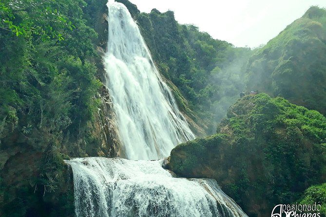 Cascadas el Chiflon (Bridal Veil) and Montebello Lakes from Tuxtla Gutierrez