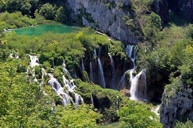From Zagreb: Plitvice Lakes fully Private Tour + transfer to Split