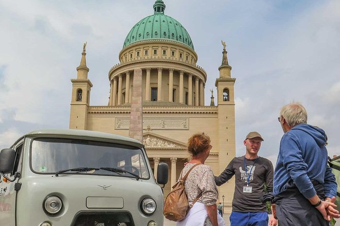 Private Potsdam City Tour in a Russian vintage minibus