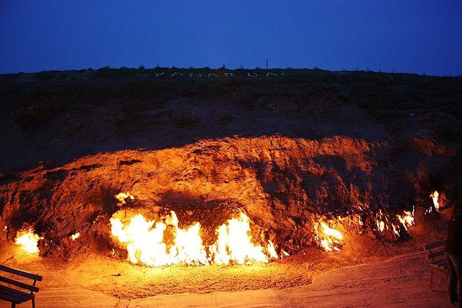 Gobustan, Mud Volcano, Burning Land and Fire Temple Tour(Lunch Included)