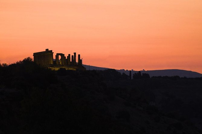 Sunset tour of the Valley of the Temples, Agrigento