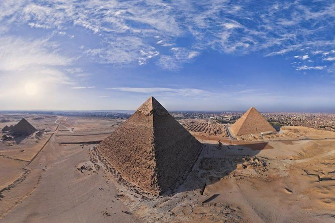 Full Day Private Tour to Giza Pyramids, Sphinx, Egyptian Museum From Cairo