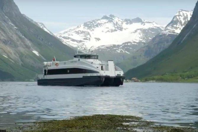Stunning Alesund Hjørundfjord Cruise