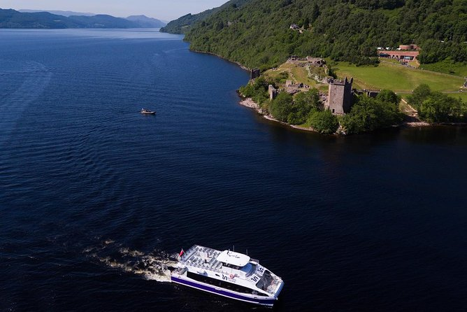 Cruise the Caledonian Canal, Sail on Loch Ness and View Urquhart Castle