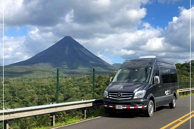 Private Transport from Tamarindo to La Fortuna de Arenal