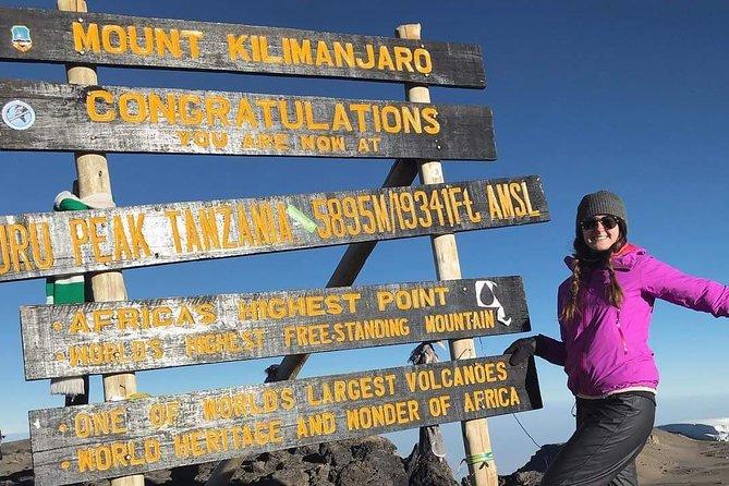 Kilimanjaro Climbing - 8 Days Lemosho Route