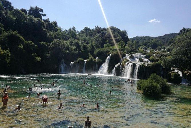 Private tour from Zadar to Krka Waterfalls ,Skradin and Šibenik
