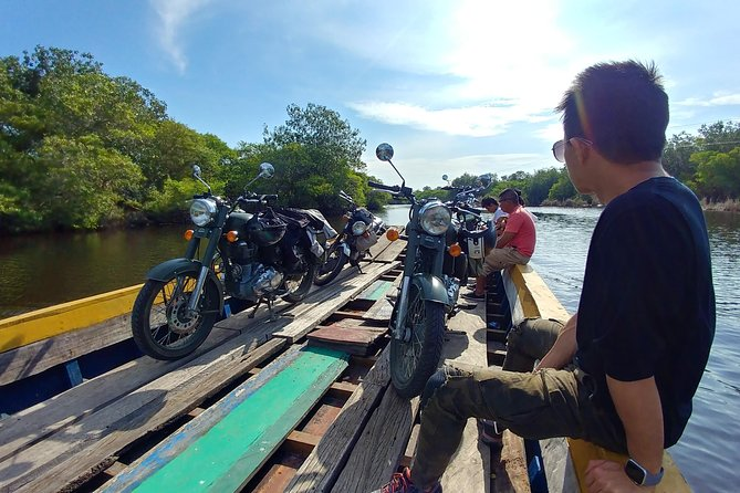 Overnight Tour to Monterrico Beach on a Classic Motorcycle