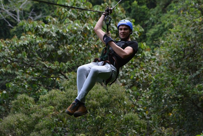 Arenal Combo Experience: Canopy & Rapell + Thermals