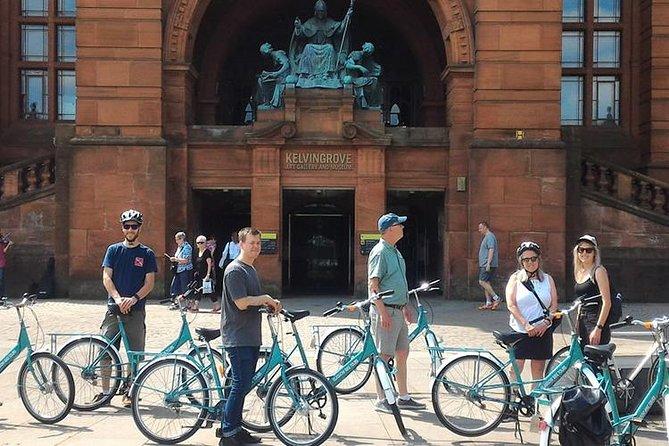 3 hour Sightseeing Bike Tour in Glasgow