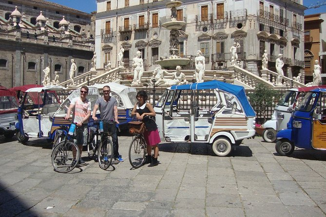 Tour of the historic center and the city center (Palermo)