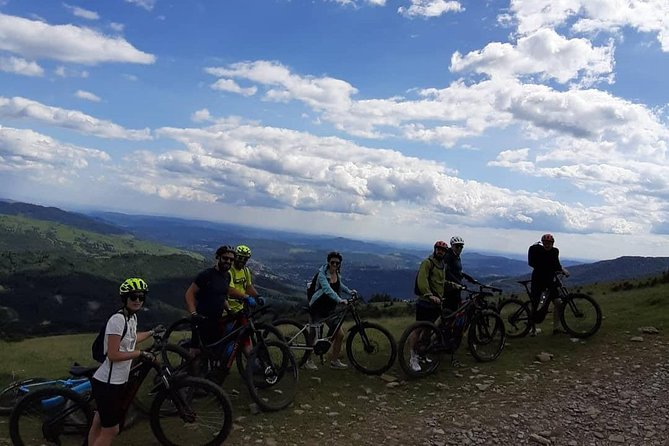 Visit Brasov and surroundings e-bike tour