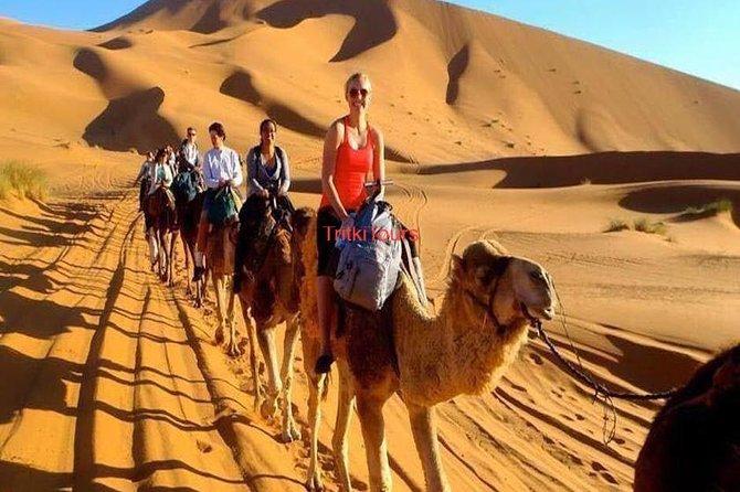 Marrakech Fes 3 days desert tour