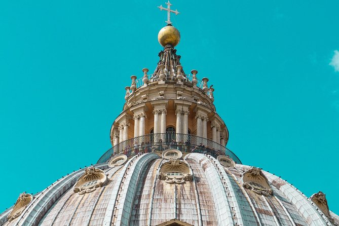 St. Peter's Basilica Dome Climbing Experience with Optional to Papal Crypts