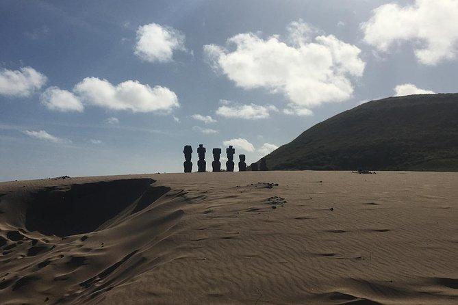 (Tour in French) LE MOAI, RAPA NUI ISLAND