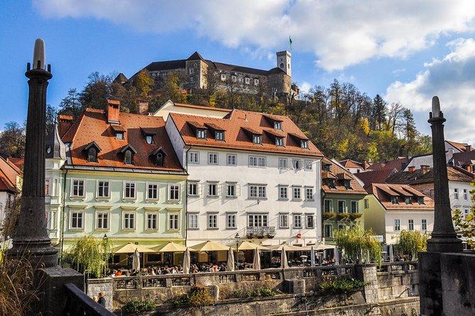 Walking tour of Ljubljana and Ljubljana Castle with a local