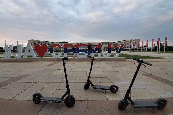 E-Scooter New Belgrade Tour