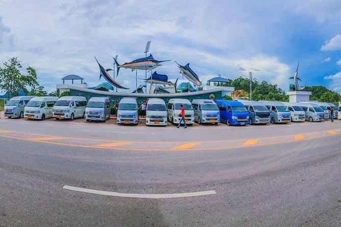 KRABI: Private Round Trip VanTransfer (3-10 Pers) Krabi Airport-Klong Maung