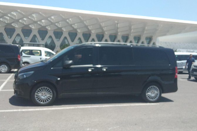 Arrival transfer from Marrakech airport to your hotel in Marrakech